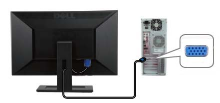 how to connect monitor to pc