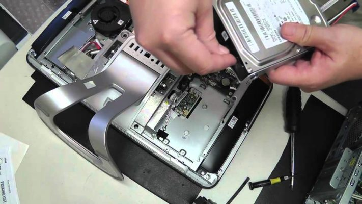how to install a hard drive in a pc
