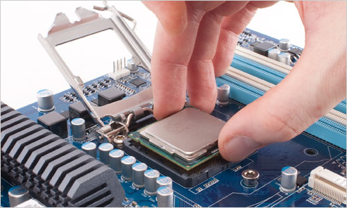how to install a processor on a motherboard socket