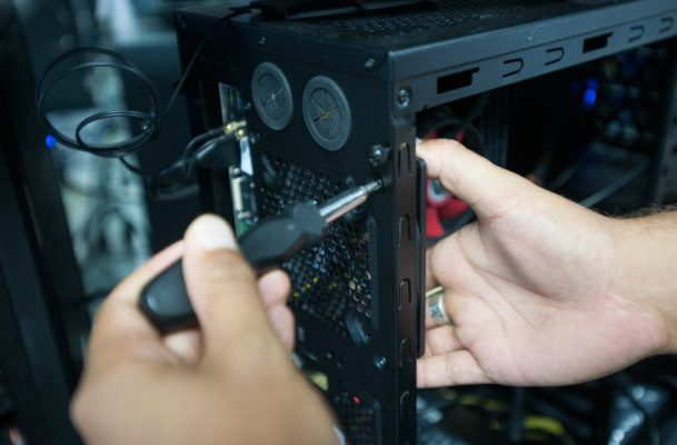 installing case fans in computer