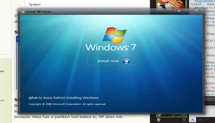 विंडोज 7 कैसे इनस्टॉल करे? (How to Install Windows 7 in Hindi)