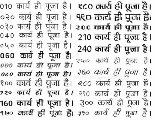kruti dev hindi typing code chart