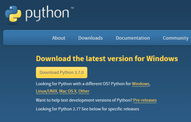 How to Download and Install Python 3.7 on Windows 10