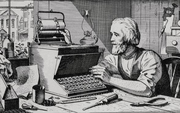 history of keyboard in hindi