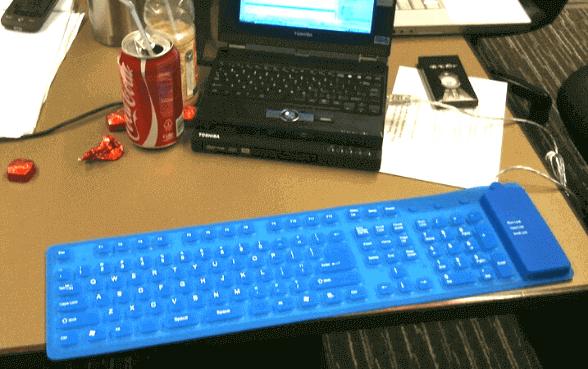 roll up keyboard in hindi
